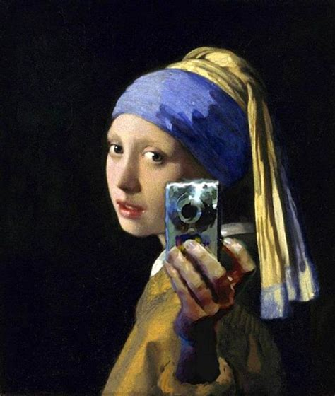 the modern classic from selfies to substance a s guide to holding own in this modern world books selfie with a pearl earring johannes vermeer