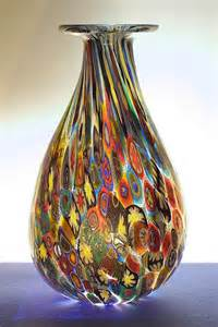 Murano Millefiori Vase Murano Italy Beyond The Obvious