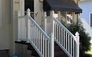 Pvc Stair Railings by Vinyl Fence Vinyl Fence Company Vinyl Fence Contractor