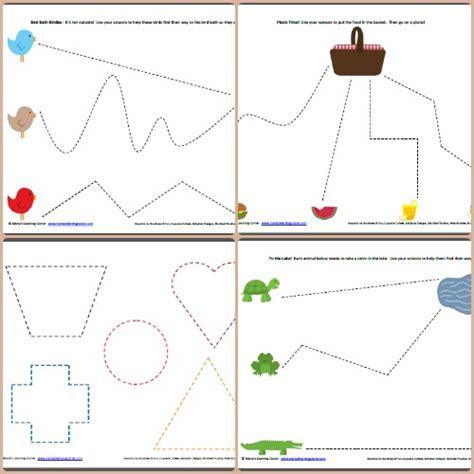 preschool scissor activities printable preschool worksheet printables fine motor skills cutting