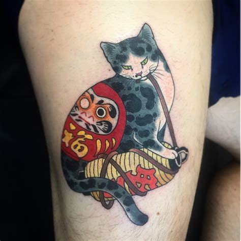Tattoo Cat Japanese | horitomo tattoo tattoo ispiration pinterest tattoo