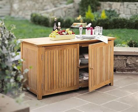 Outdoor Kitchen Storage by Weatherproof Outside Storage Cabinets For Your Garden