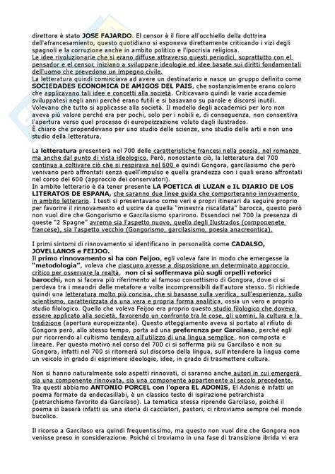 letteratura spagnola del novecento 8842492280 settecento ottocento novecento appunti di spagnolo