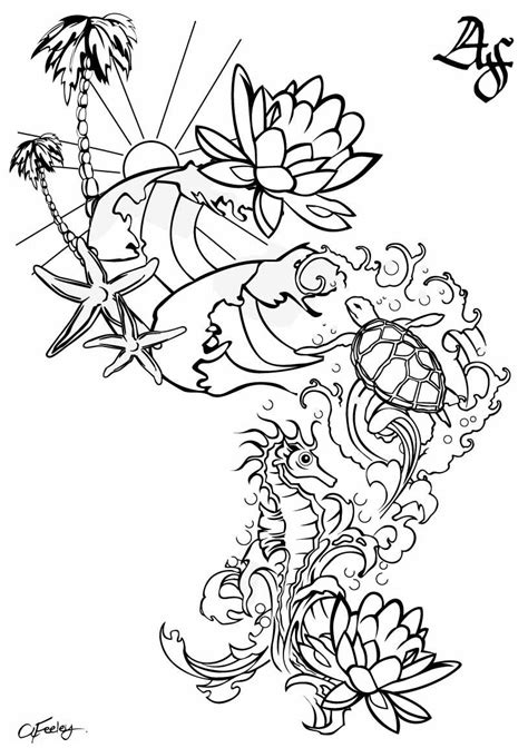 under the sea tattoo designs the sea design keep clam get inked
