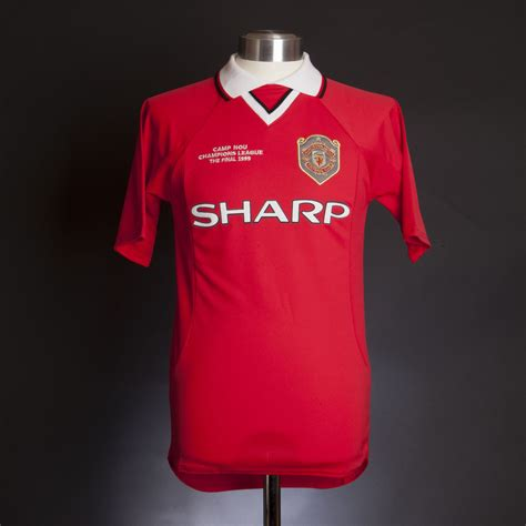 Retro Jersey Manchester United Ucl 99 manchester united 1999 chions league shirt
