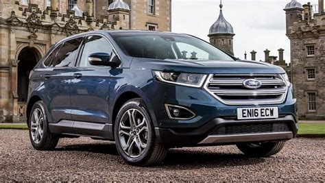 New Ford Suv 2018 by Ford Edge Suv Confirmed For 2018 Car News Carsguide