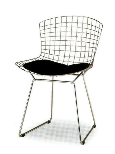 Bertoia Chair by Harry Bertoia Wire Chair Bauhaus Italy