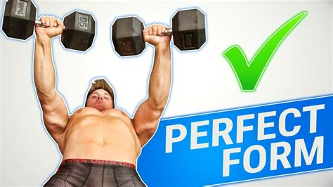 proper dumbbell bench press form how to dumbbell bench press 3 golden rules youtube
