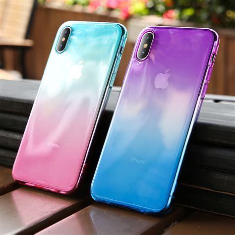 kisscase gradient color phone case  iphone  xr xs max