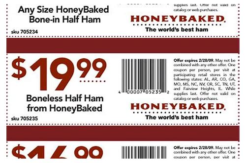 ney baked ham coupons