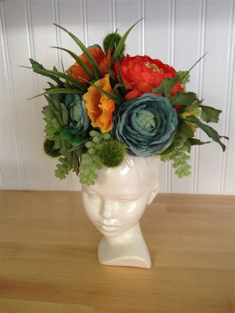 Head Planter Pots For Sale by 17 Best Ideas About Head Planters On Pinterest Concrete