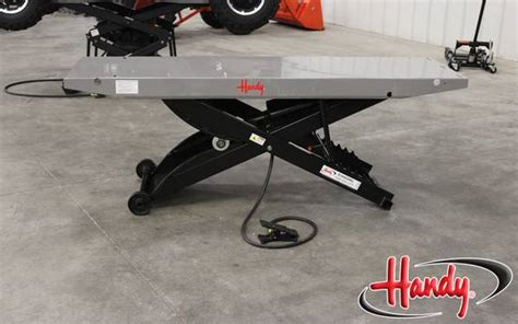handy motorcycle lift table handy motorcycle 1 000 lb lift table for sale in