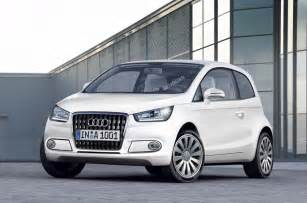 new audi a2 electric only autocar