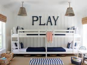 Bunk beds kids room ideas for playroom bedroom bathroom hgtv