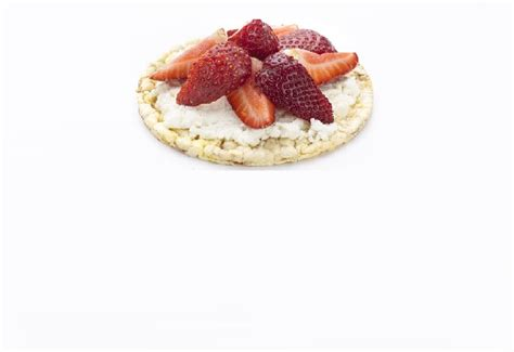 Strawberry Cottage Cheese by Strawberry Cottage Cheese Corn Thins