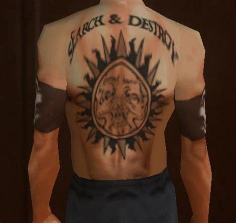 gta san andreas henry rollins back tattoos mod gtainside com