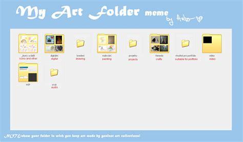 Meme Folder - my art folder meme by drakonee on deviantart