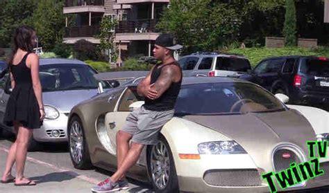 bugatti gold digger bugatti veyron gold digger prank new