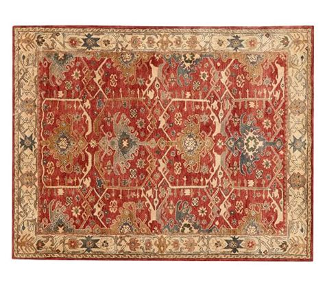 pottery barn rug channing style rug pottery barn