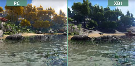 One Graphic 12 ark survival evolved pc vs xbox one graphics