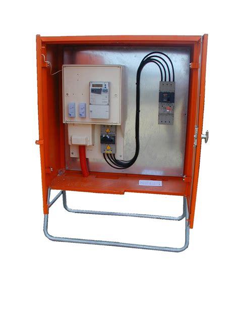 armoire electrique de chantier armoire de comptage tarif jaune type e42