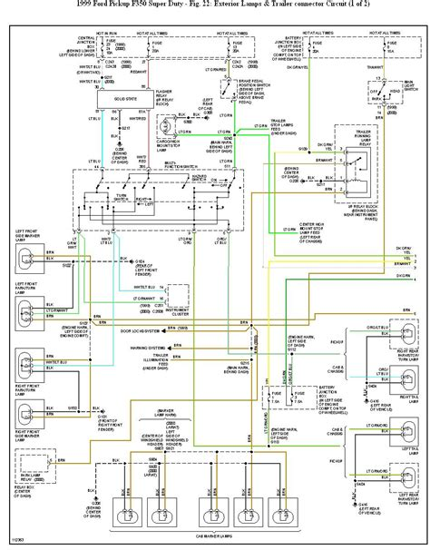 ford f350 trailer wiring diagram i an f350 4x4 dual tandem supercab diesel 7 3 1999 my trailer lights stopped working