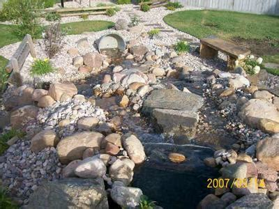 how to build a backyard waterfall tips