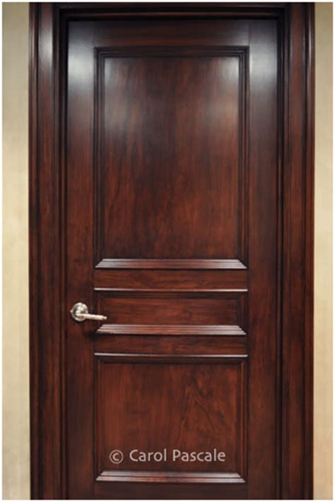 cherry doors faux painted wood marble pascale studio