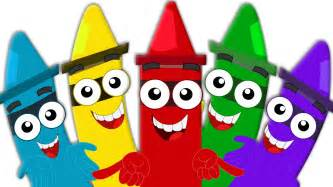 Child Color by Crayons Color Song Learn Colors For Babies And Kids
