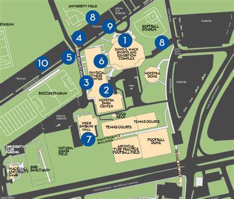 hofstra map map of debate area debate 2012 hofstra new