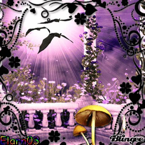princess garden with evil bats picture 126504705