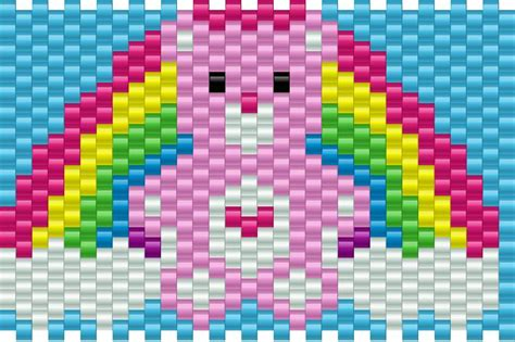 care pony bead patterns characters kandi patterns