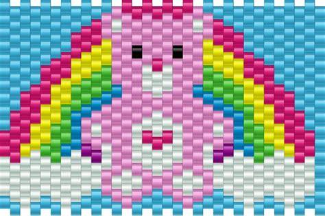 kandi pattern maker ipad care bear pony bead patterns characters kandi patterns