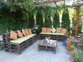 Ideas For Backyard Patio 39 Outdoor Pallet Furniture Ideas And Diy Projects For Patio