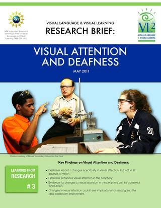 visual research required reading research brief 3 visual attention and deafness by visual language and visual learning issuu