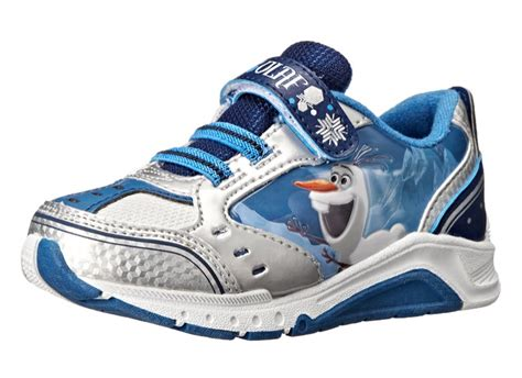 amazon up light disney frozen olaf light up sneaker as low as 8 10 reg