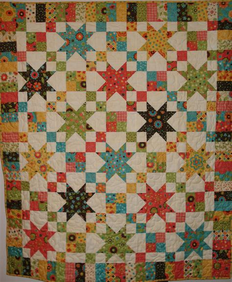 Jelly Roll Patchwork Quilt Patterns - jelly roll quilts made the chain pattern from
