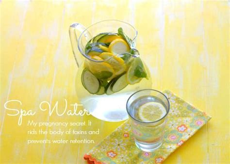 Is Detox Water During Pregnancy by Spa Water My Pregnancy Secret To Curb Water Retention