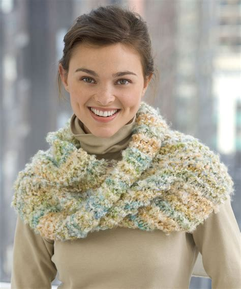 knit cowl mobius scarf knitting pattern a knitting