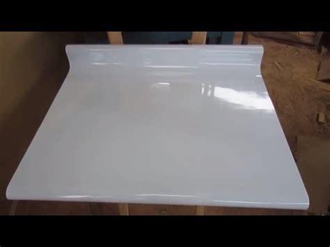como hacer  tablero postformado de forma casera facil