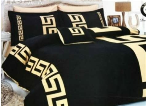 Satin Comforter Cover Versace 6pcs Authentic Luxury Bed Set Satin Made In Italy
