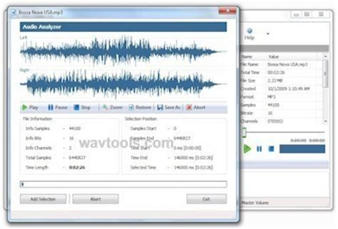 format file audio pcm ez wav editor edit and to convert pcm acm wav waveform