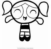 Disegno Di Dolly Frontale Che Sorride Powerpuff Girls Da