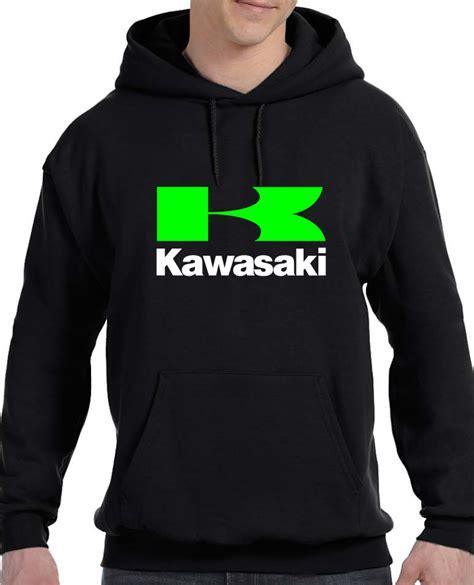 Hoodie Kawasaki Logo Black Station Apparel kawasaki motorsport hoodie sweat shirt sweatshirts hoodies