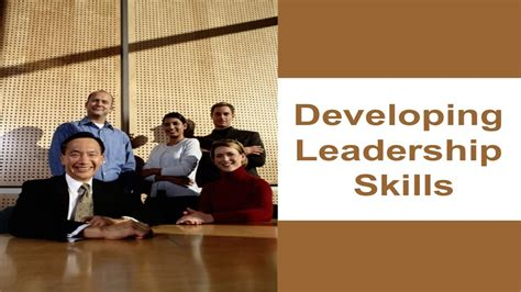 how to develop leadership skills powerpoint presentation developing leadership skills ppt youtube