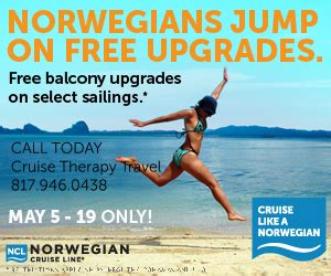 Family Cruises Deals   Norwegian Upgrades