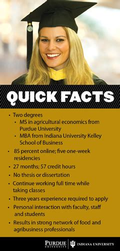 Career In Mba Agribusiness Management by Purdue Ms Mba Program Agcareers