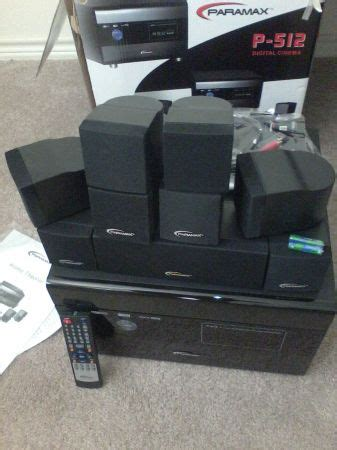 Home Theater Awaco paramax home theater system for sale