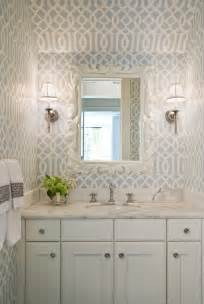 Bathroom Wallpaper Ideas by Gorgeous Wallpaper Ideas For Your Modern Bathroom