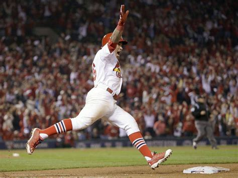wong hits walkoff home run cardinals even series with